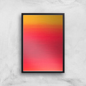 Red Skies At Night Giclee Art Print