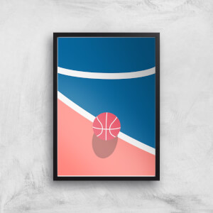 Court-Side Giclee Art Print