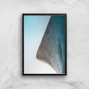 Tiled Corners Giclee Art Print