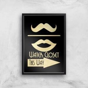 Water Closet Giclee Art Print