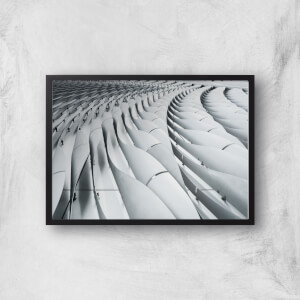 Industrial Waves Giclee Art Print