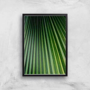 Textured Leaves Giclee Art Print