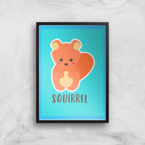 This Is A Squirrel Giclee Art Print