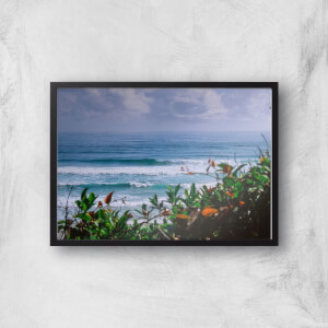 Watching The Waves Giclee Art Print