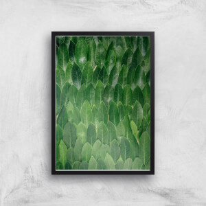 A Cloak Of Leaves Giclee Art Print
