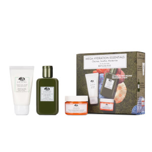 Origins Cleanse, Shroom and Moisturise Mega Hydration Set for Dry Skin