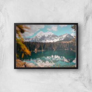 Lakeside View Giclee Art Print