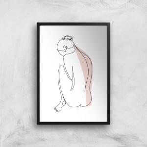 Feeling Sensitive Giclee Art Print