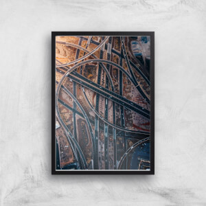 Lost On A Highway Giclee Art Print