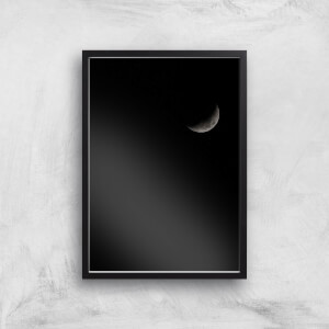 Quarter Moon Giclee Art Print