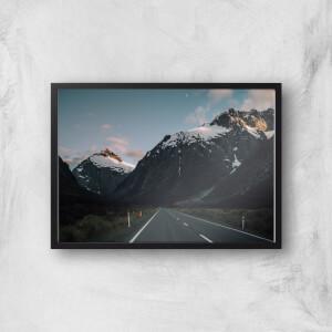 Mountain Road Giclee Art Print