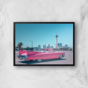 Retro Car Giclee Art Print