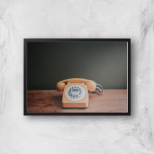 Old Phone Giclee Art Print