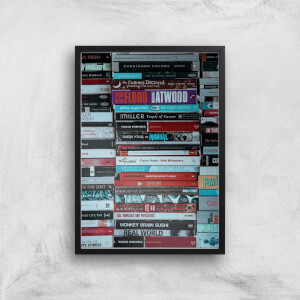 Casette Tapes Giclee Art Print
