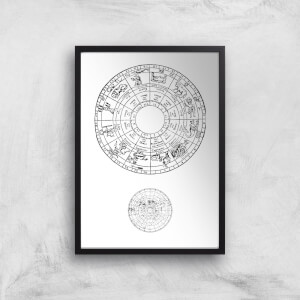 Astrological Dial Giclee Art Print