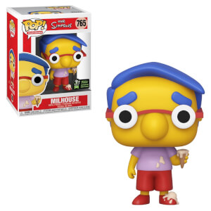 The Simpsons Milhouse Van Houten ECCC 2020 EXC Pop! Vinyl Figure