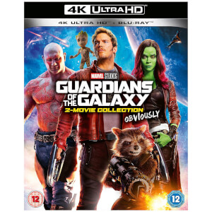 Guardians of the Galaxy - 4K Ultra HD Doublepack