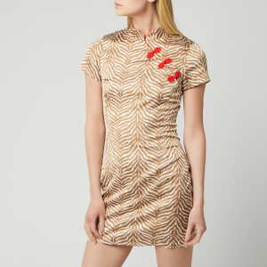 De La Vali Women's Suki Short Alvin Dress - Tiger