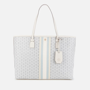 Tory Burch Women's Gemini Link Canvas Tote Bag - New Ivory