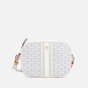Tory Burch Women's Gemini Link Canvas Mini Bag - Old New Ivory