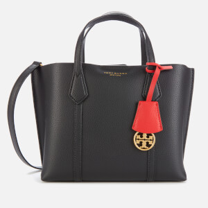Tory Burch Women's Perry Small Triple-Compartment Tote Bag - Black