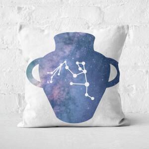 Cosmic Aquarius Square Cushion