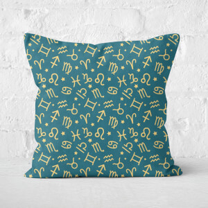 Horoscope Pattern Square Cushion