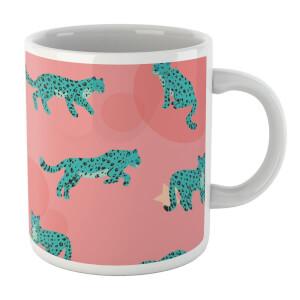 Cosmic Leopard Mug