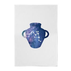Aquarius Cotton Tea Towel