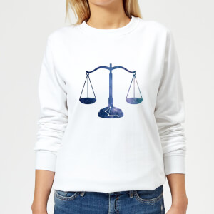 Libra Women's Sweatshirt - White