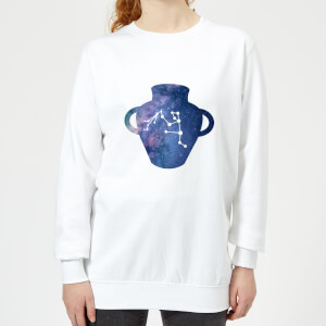 Aquarius Women's Sweatshirt - White
