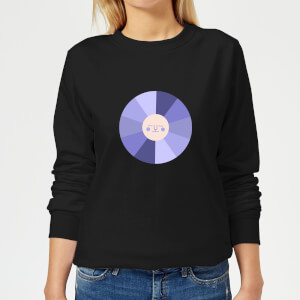 Colours Of The Night Women's Sweatshirt - Black