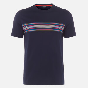 Ted Baker Men's Bevvy Striped Chest T-Shirt - Navy