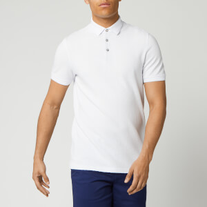 Ted Baker Men's Infuse Textured Polo Shirt - White