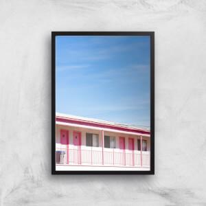 Motel Nights Giclee Art Print