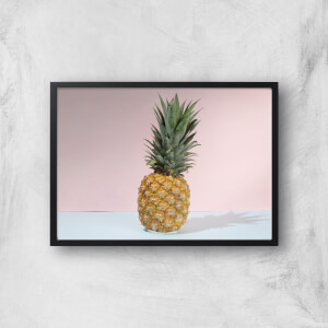 Pastel Pineapple Giclee Art Print
