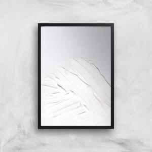 Minimal White Giclee Art Print