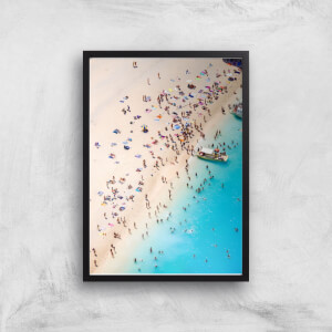 By The Sea Giclee Art Print
