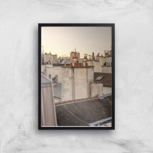 Paris At Dusk Giclee Art Print