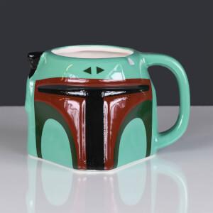 Star Wars Boba Fett 3D Sculpted Mug