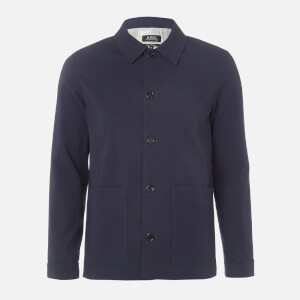 A.P.C. Men's Veste Martin Jacket - Dark Navy