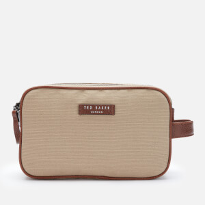 Ted Baker Men's Hopset Washbag and Towel Gift Set - Grey