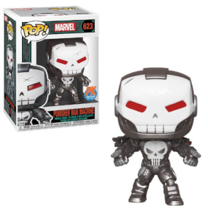 Marvel - Punisher War Machine Figura Pop! Vinyl Esclusiva PX