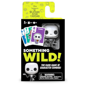 Something Wild Card Game - Nightmare Before Christmas