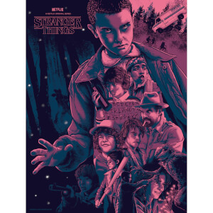 Stranger Things Print von Nos4a2