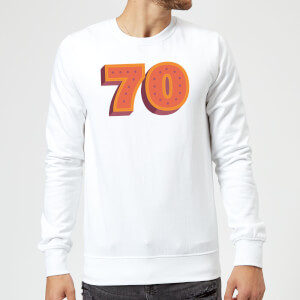 70 Dots Sweatshirt - White