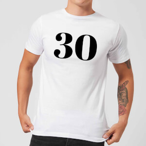 30 Men's T-Shirt - White