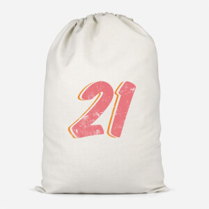 21 Distressed Cotton Storage Bag