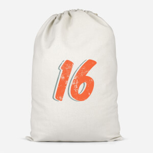 16 Distressed Cotton Storage Bag