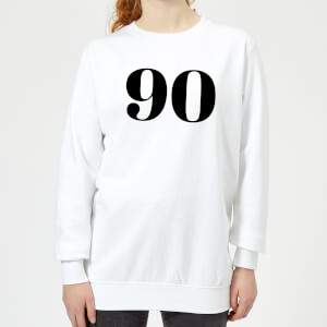 90 Women's Sweatshirt - White